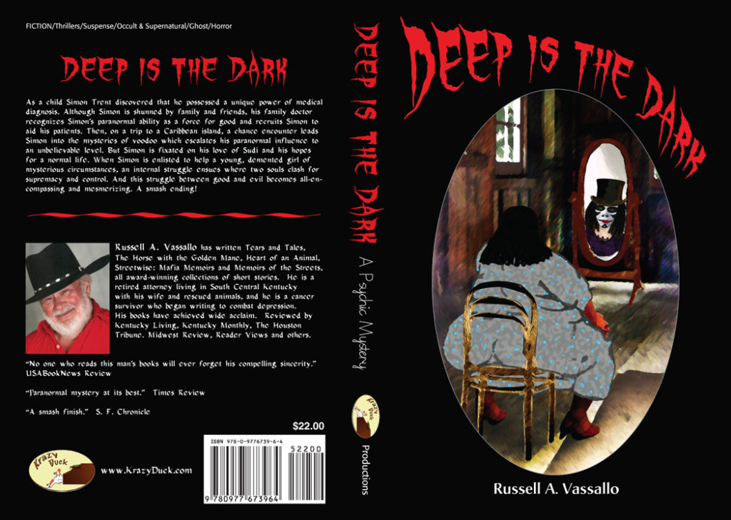 Cover and Book design for the Krazy Duck publisher.