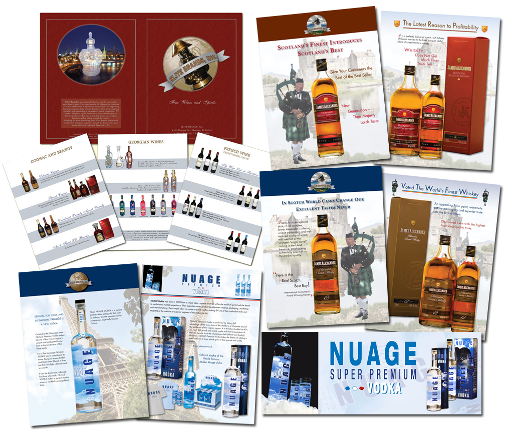 Catalog Design and Layout. Design of the loose catalog pages including logo design for a new products.
