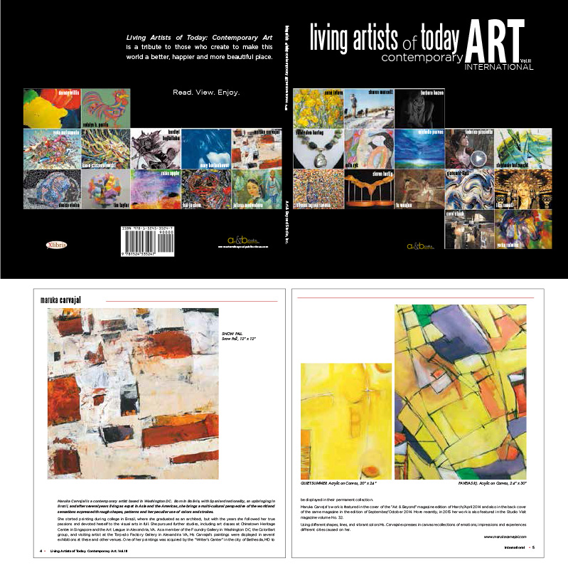 Cover and Book Design for Art & Beyond Publications.