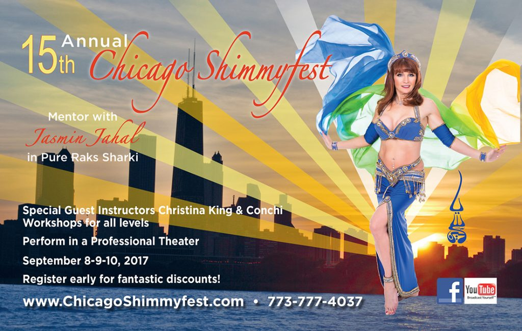 Jasmin Jahal. Pure Raks Belly Dance Studio advertising for magazine.
