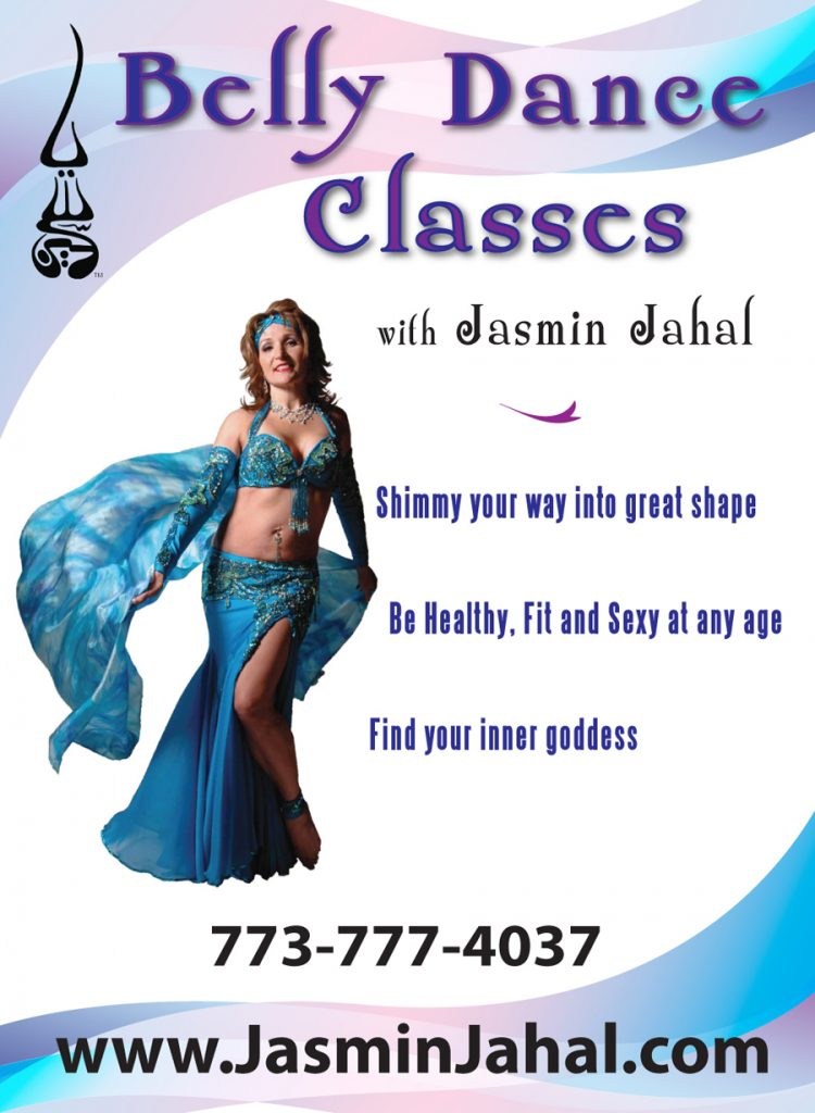 Poster for Belly Dance Classes