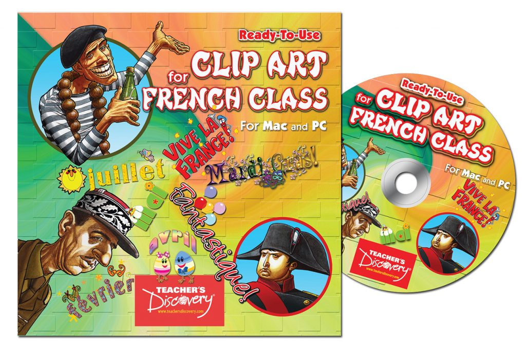 CD Cover and CD labels for Teacher's Discovery Educational Games.
