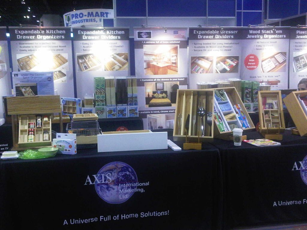 AXIS International Ltd. Trade Show Booth