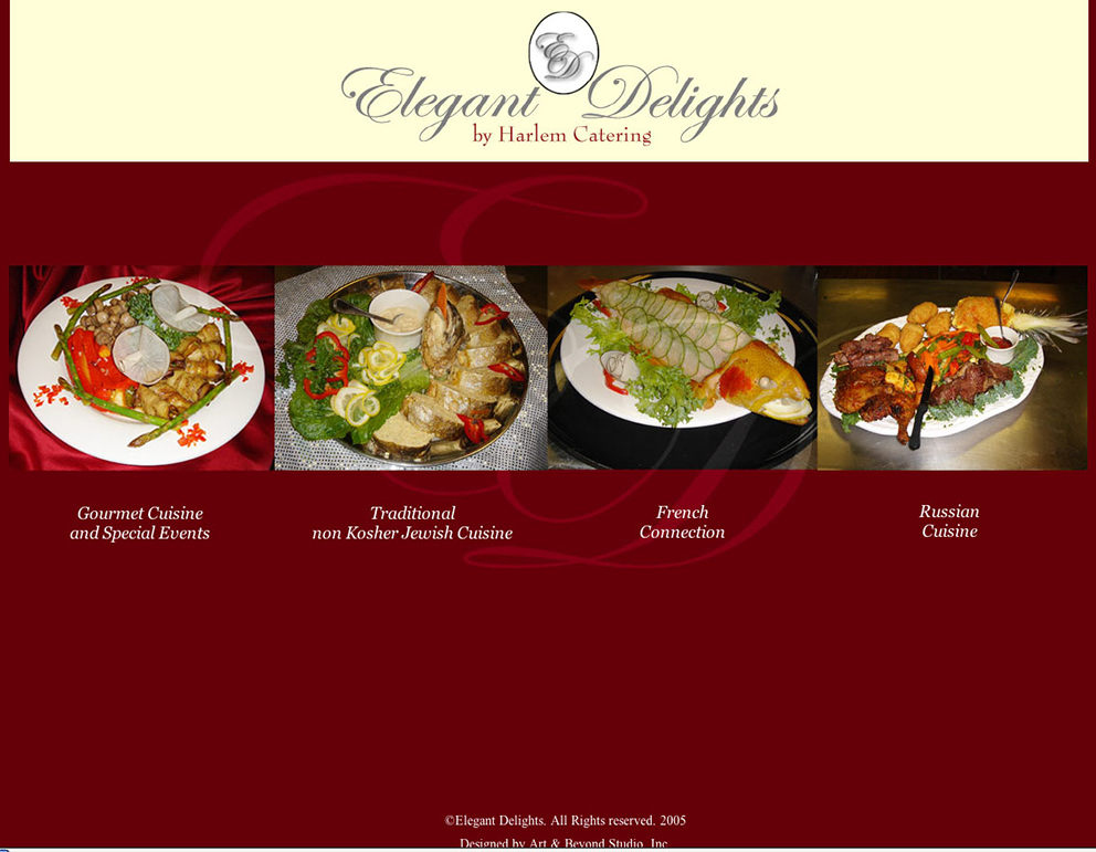 Elegant Delight Web Design