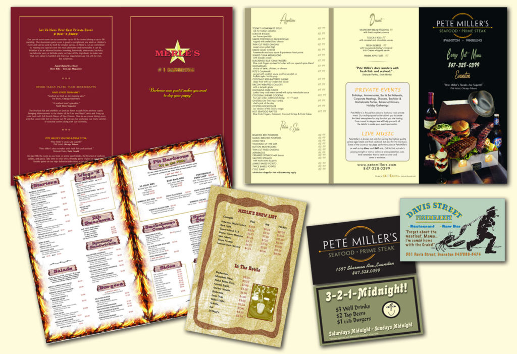 Clean Plate Restaurant Group. Menus.